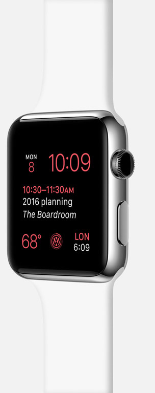 Se inn i fremtiden med Apple Watch og watchOS 2..