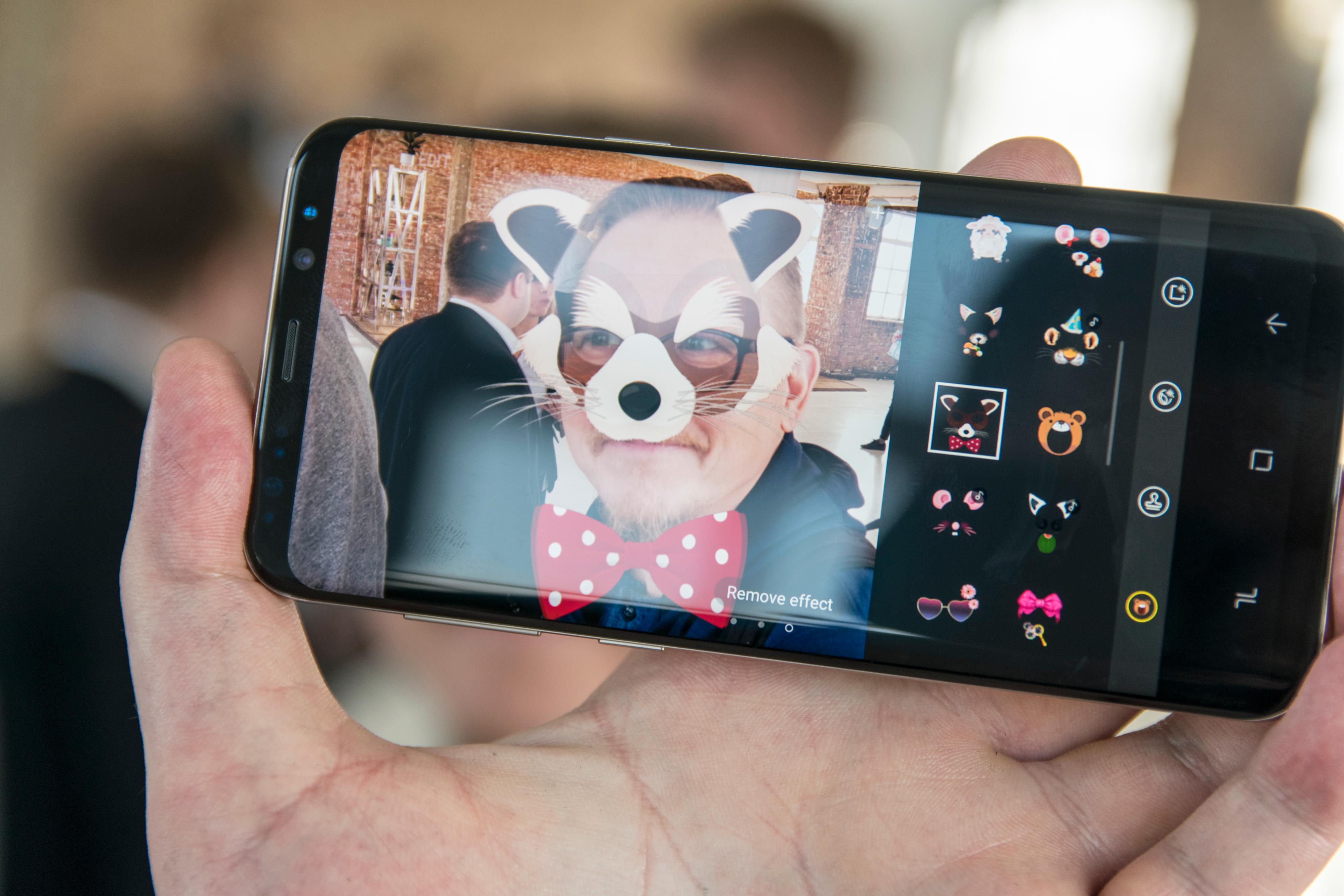 Galaxy S8 er en flott telefon med mye snadder, men du bør kanskje droppe å velge ansiktsgjenkjenning som sikkerhetsløsning.