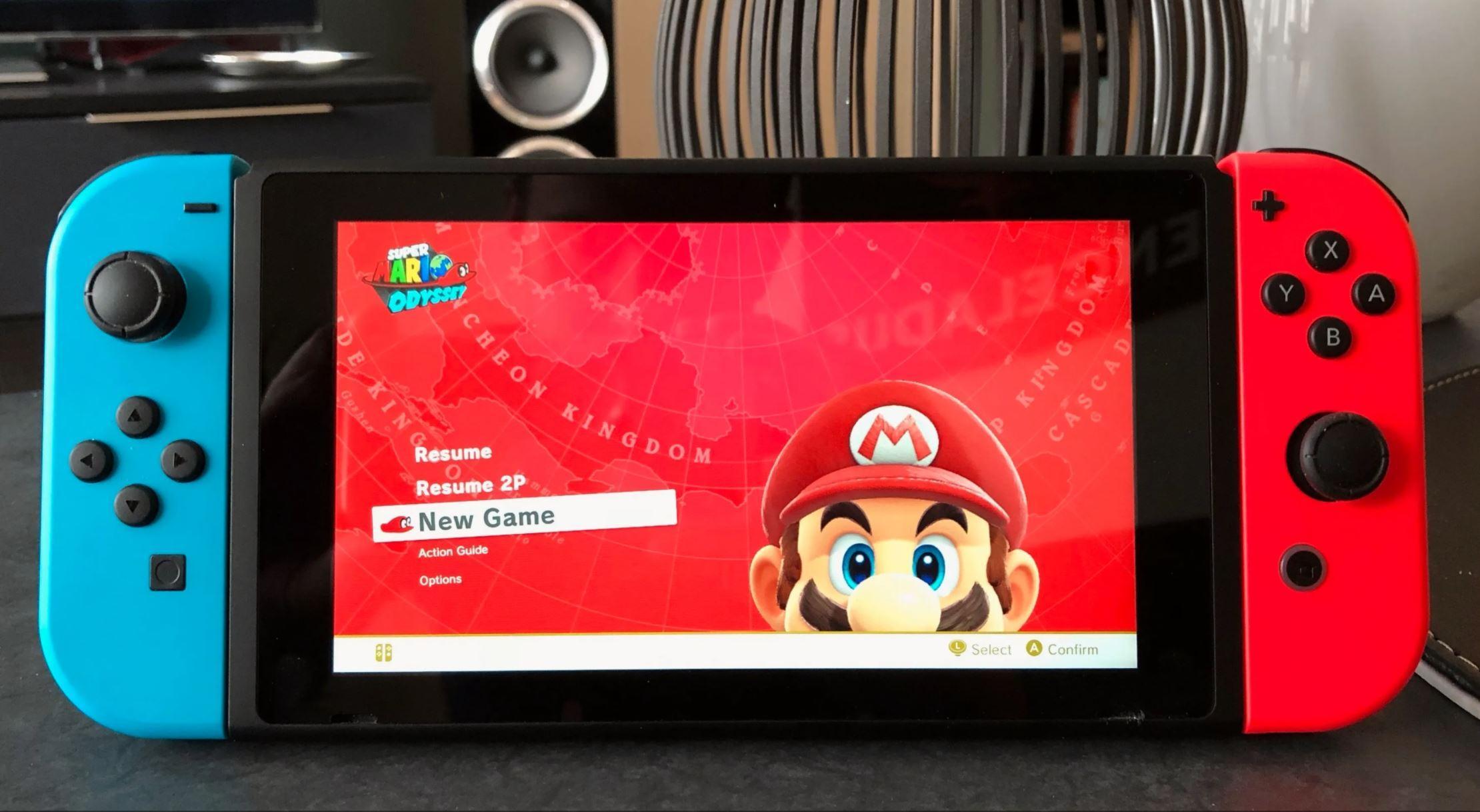 Nye Nintendo Switch kan være i salg 4. juni