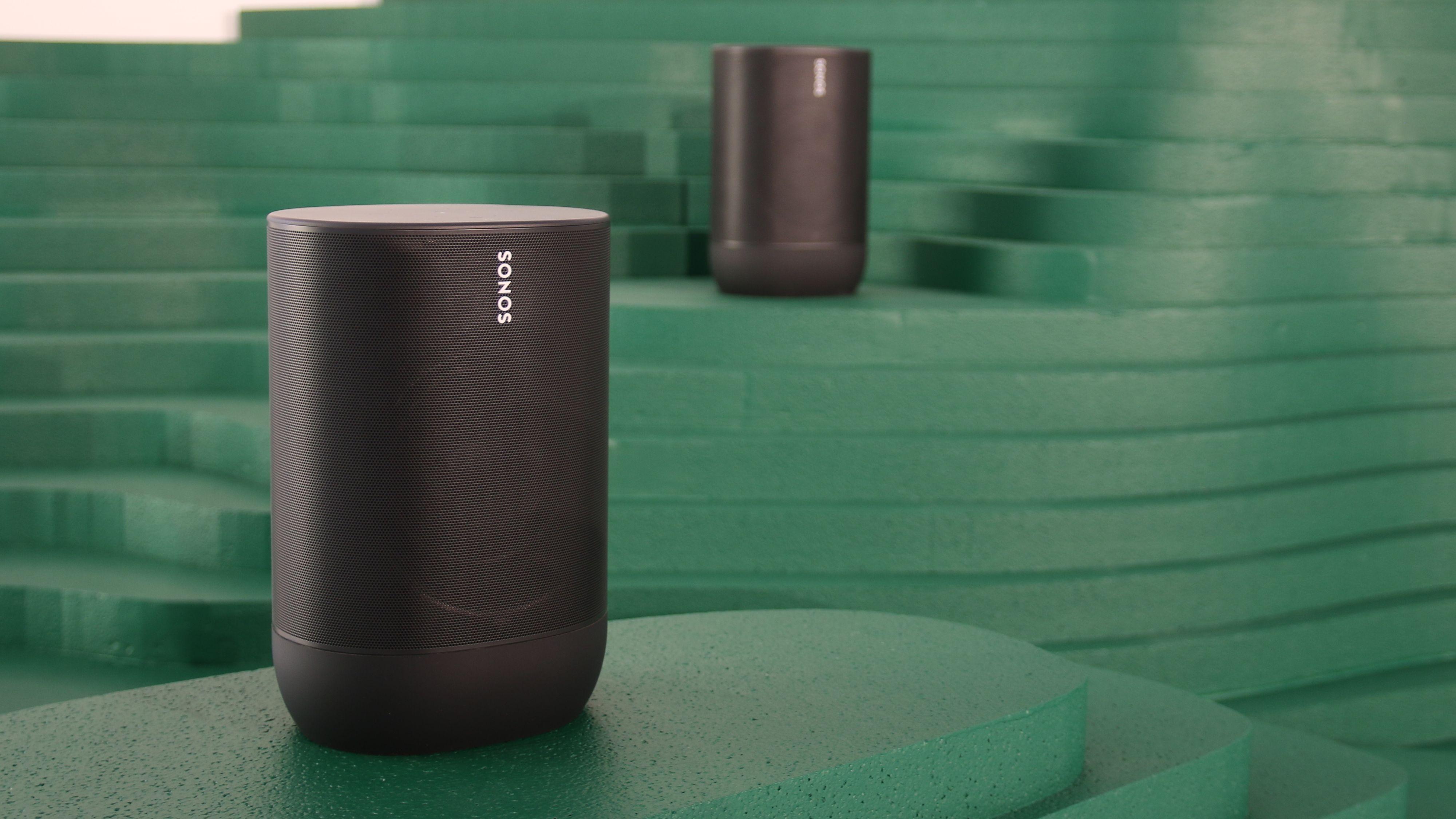 Sonos Move vil etter hvert kunne opptateres.