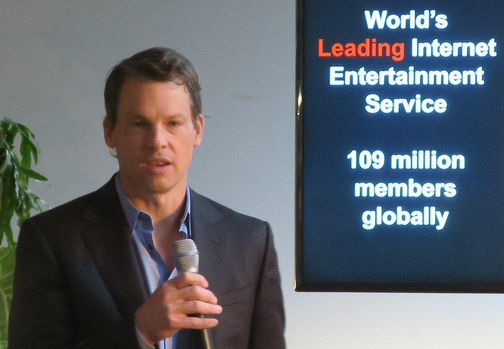 Greg Peters er Netflix' Chief Product Officer. Bilde: Vegar Jansen, Tek.no