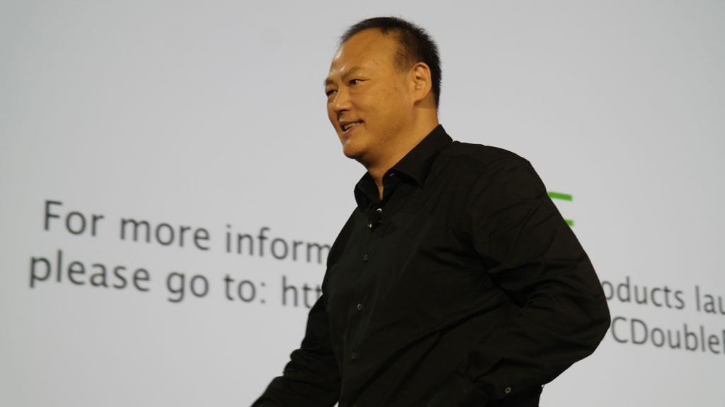 Peter Chou varsler at HTC fra nå av er et «personal technology company».Foto: Espen Irwing Swang, Tek.no