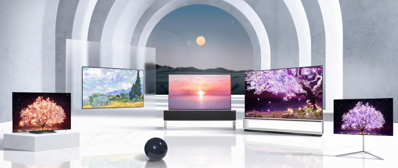 Her er LGs nye TV-er