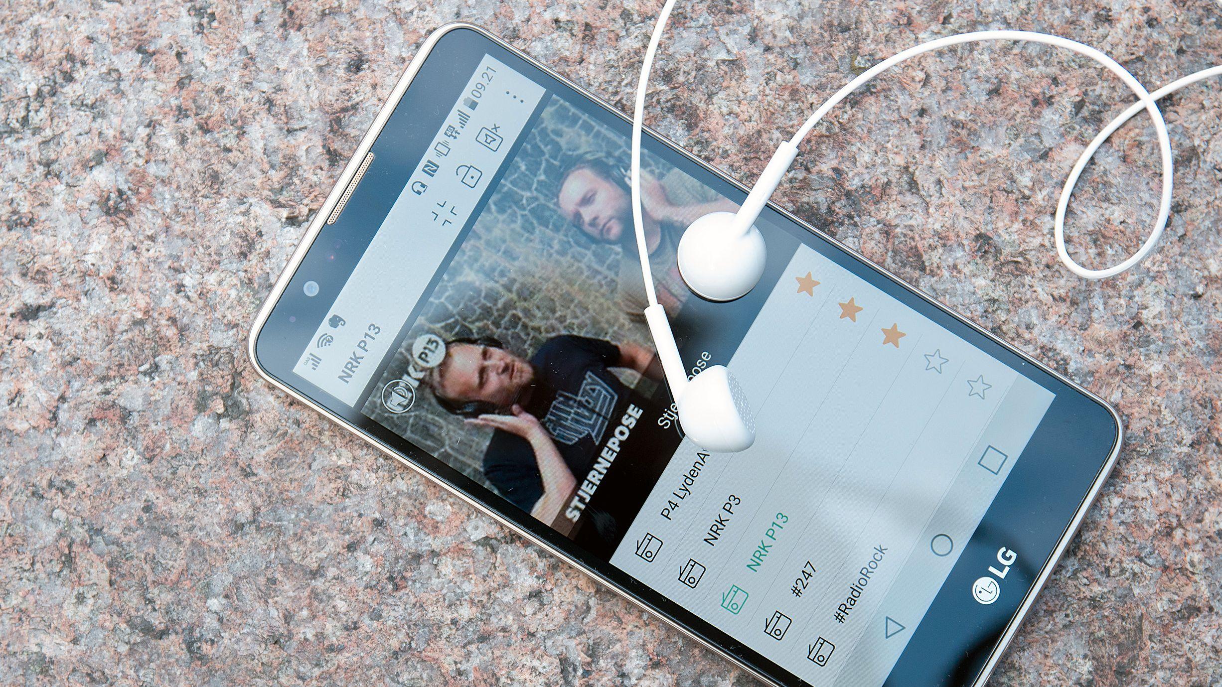 LG Stylus 2 har DAB-radio og TV