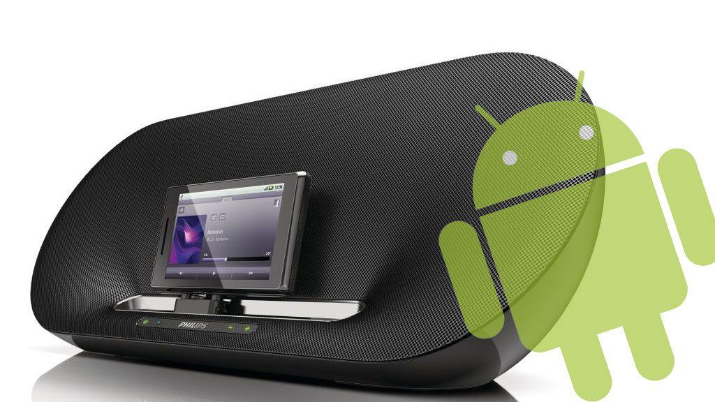 Spiller musikk fra Android-mobilen din