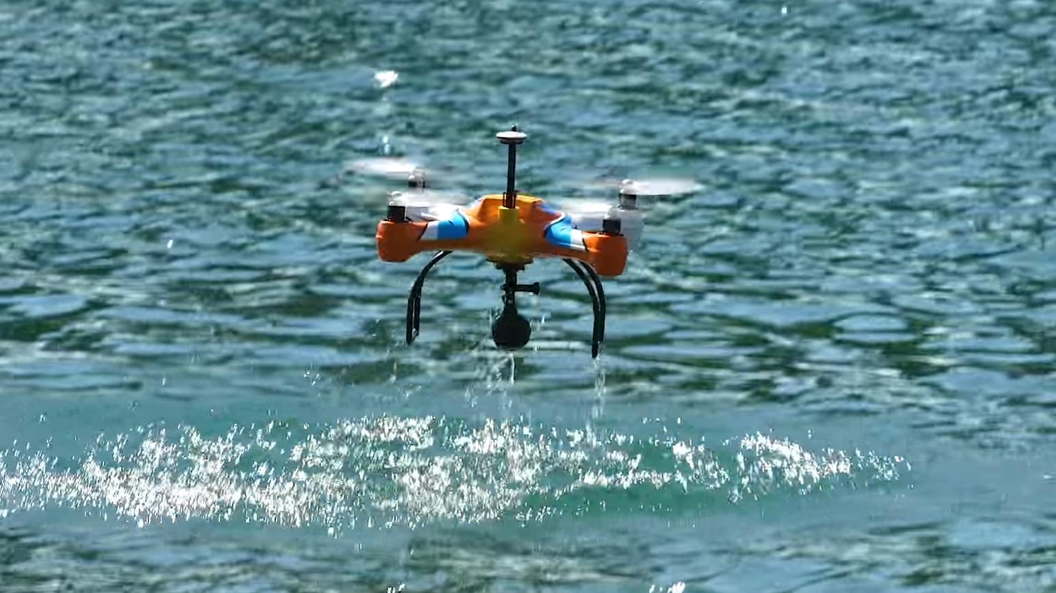 Her er en drone som kan hjelpe deg å fiske
