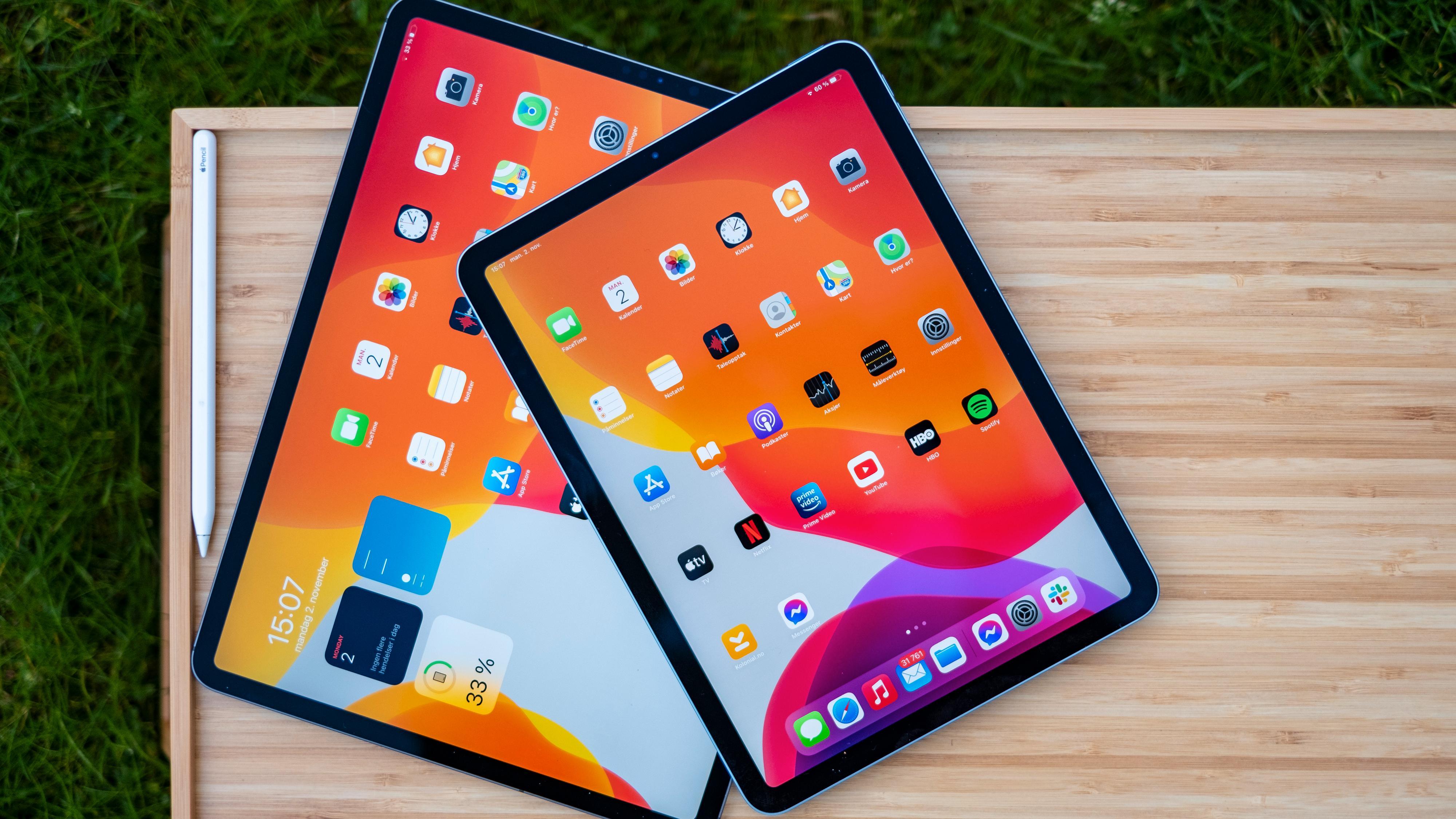 Det viktigste fra iPad Pro til lavere pris