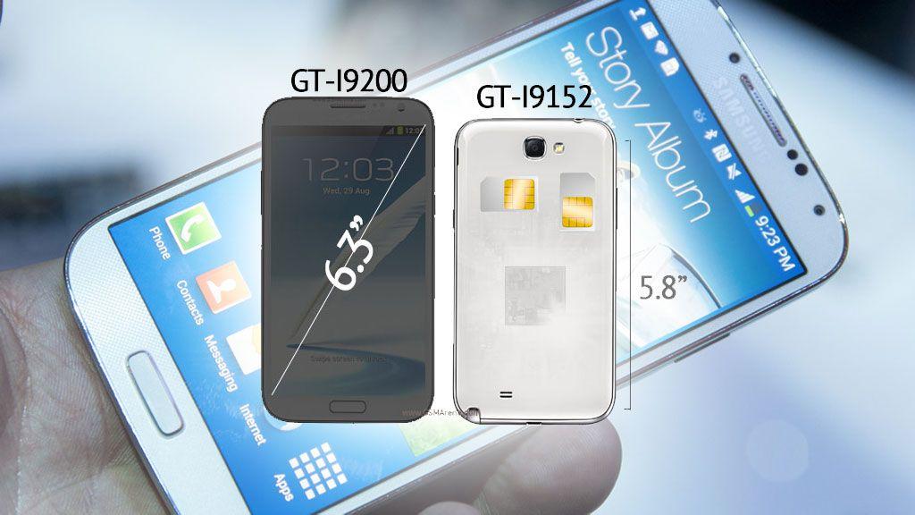 Nå kommer Samsung Galaxy Mega og Win