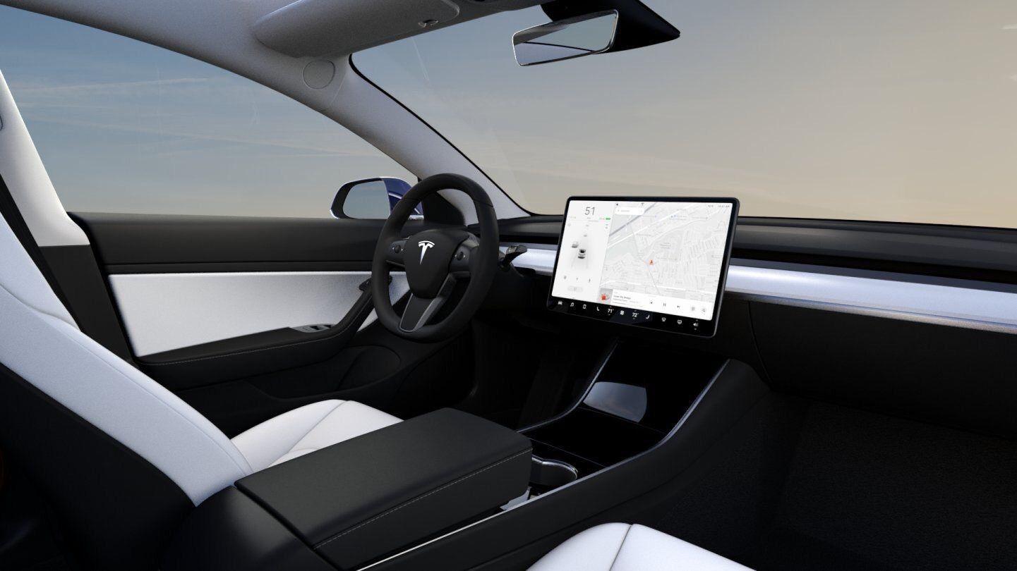Model 3 Performance vil ha tilgang til hvitt interiør.