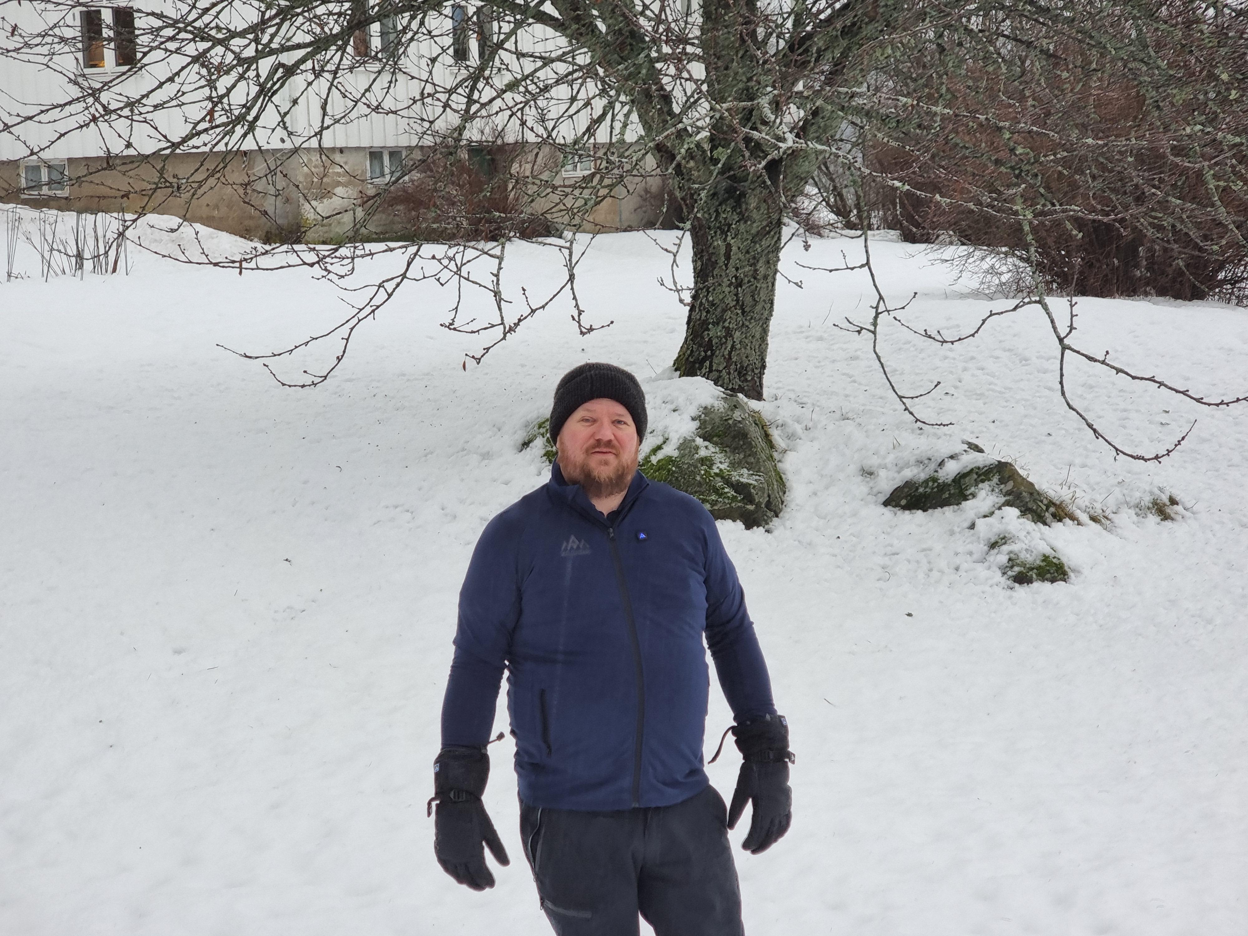 Ole Henrik Johansen på avstand.
