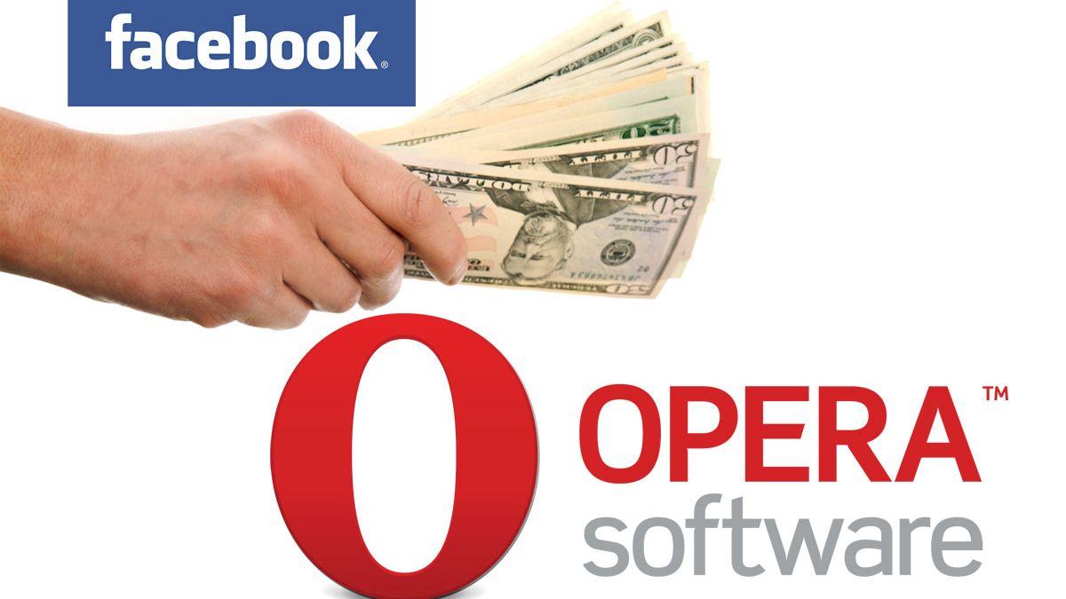 – Facebook vil kjøpe Opera