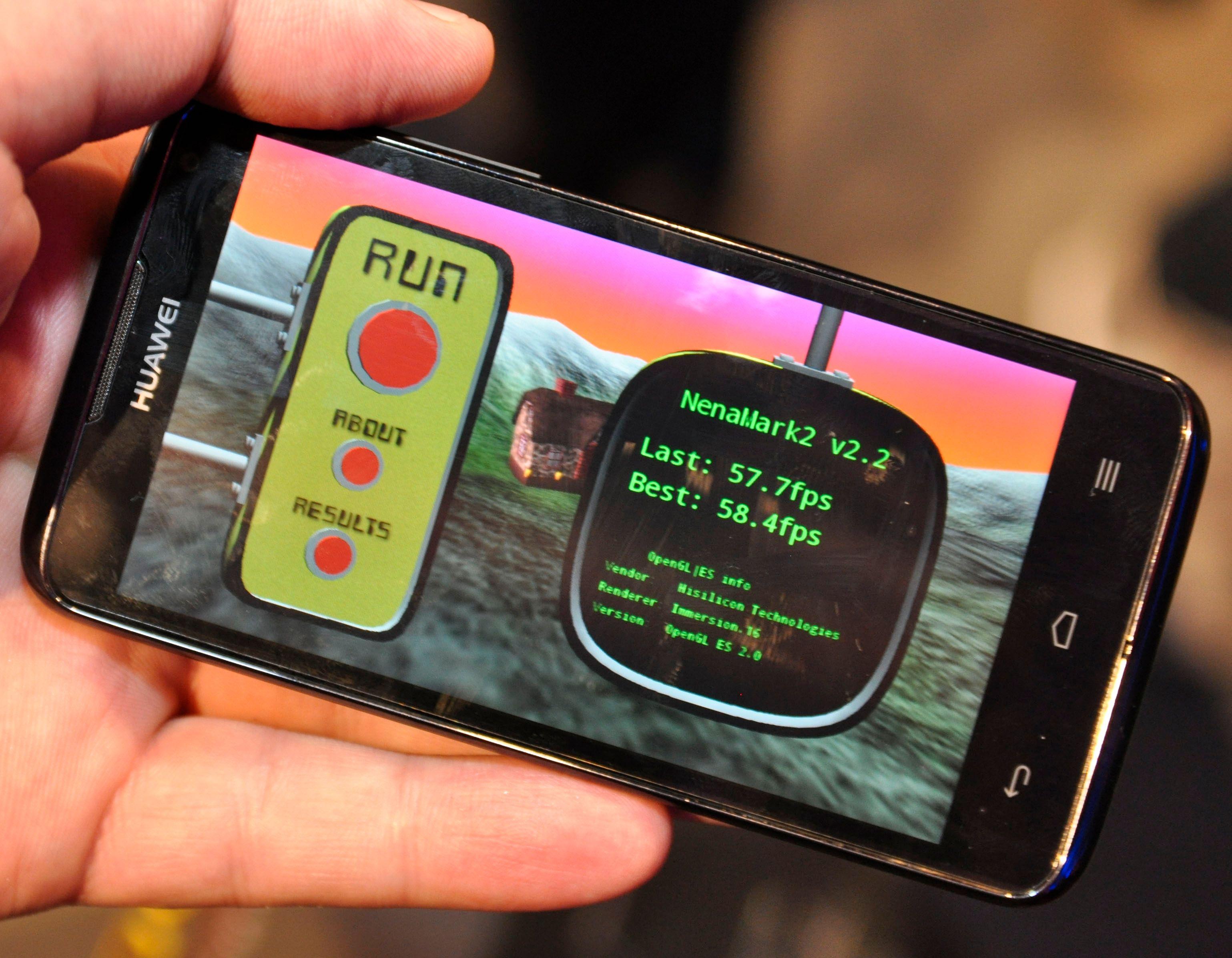 Ascend D quad utklasser alle andre telefoner i ytelsestesten Nenamark 2.
