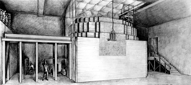 Chicago Pile-1 var verdens første menneskeskapte og fungerende kjernefysiske reaktor, og var satt sammen av løse mursteiner og trebjelker. Den ble bygd i 1942 som en del av Manhattan-prosjektet, og lå rett under tribunen til et fotballstadion i Chicago….