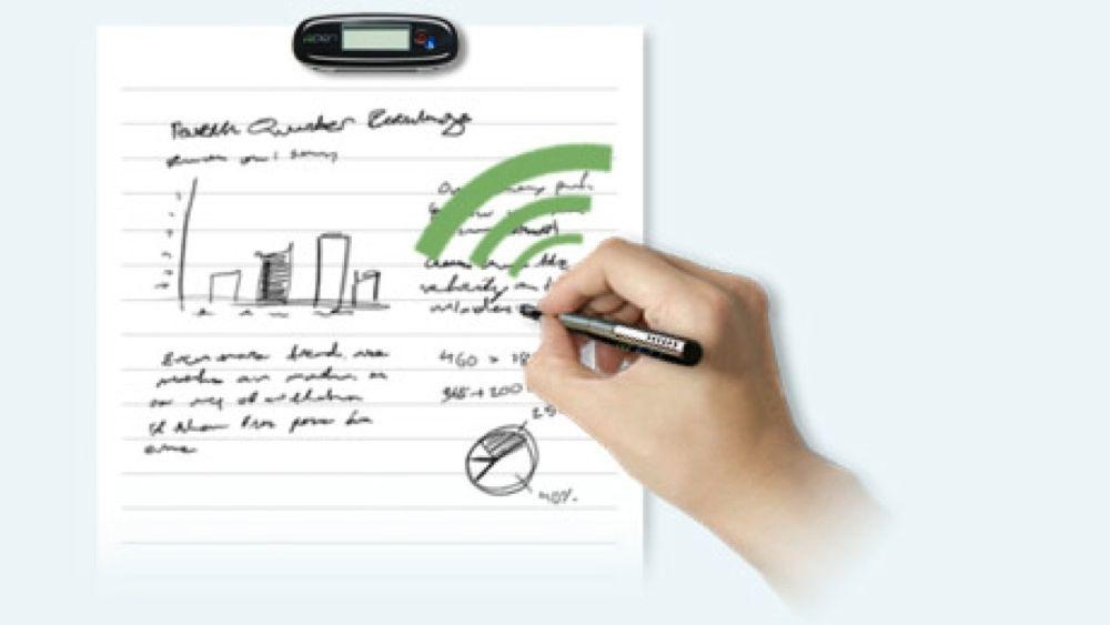 Denne pennen digitaliserer mens du skriver