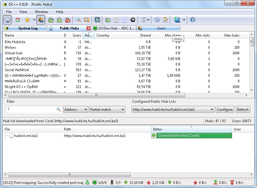 Koble til en hub, og vips, mengder med opphavsbeskyttede filer.