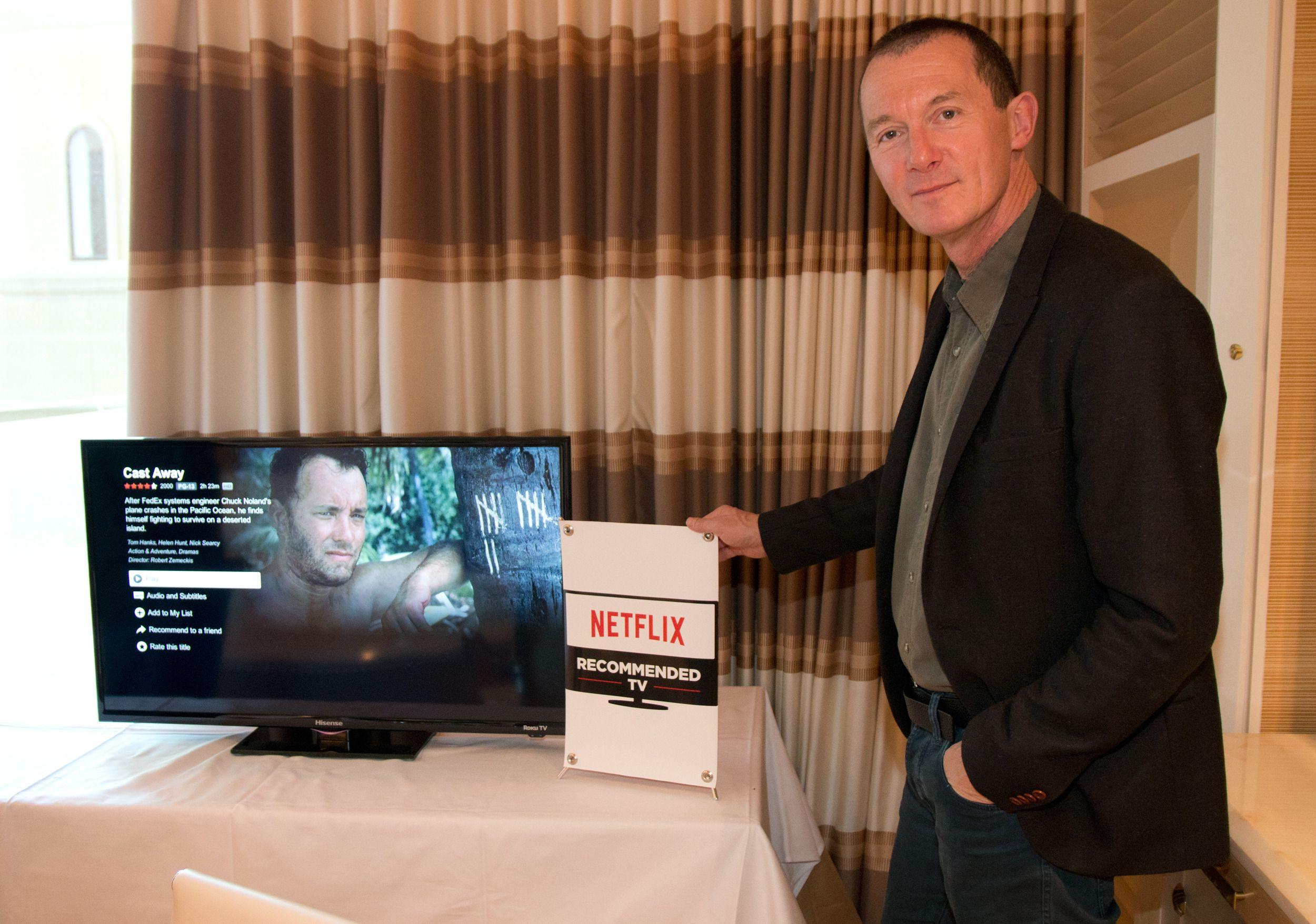 Neil Hunt vil gjerne ha egen merking på TV-ene. Foto: Rolf B. Wegner, Tek.no