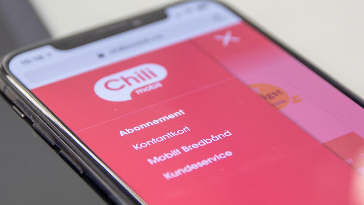 Chilimobil sendte sensitive kundeopplysninger uten kryptering
