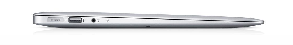 Macbook Air er fortsatt syltynn.Foto: Apple
