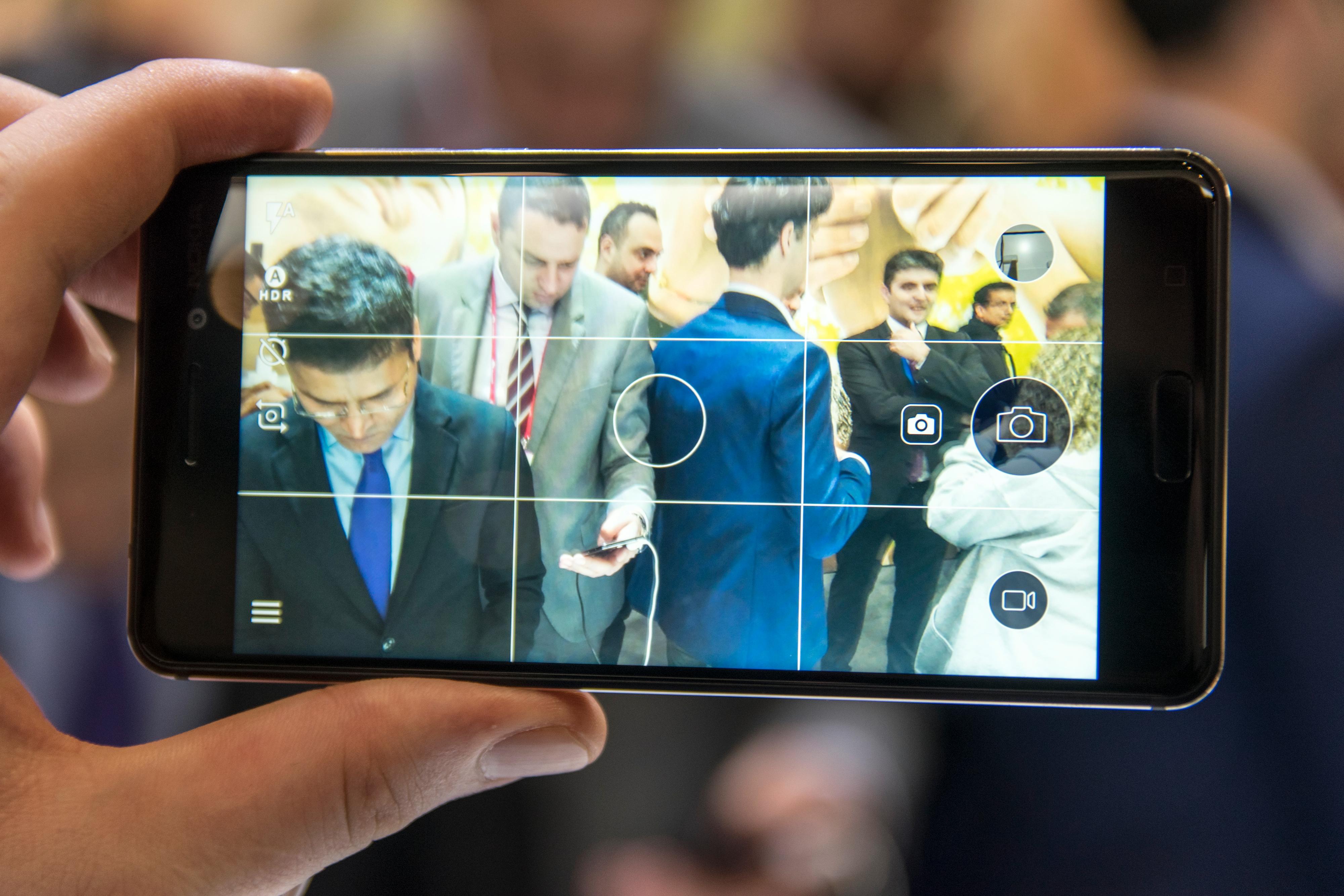 Kameraet virket litt middels, men så er heller ikke dette en dyr telefon. Akkurat hvor godt det faktisk er får vi se når telefonen skal testes.