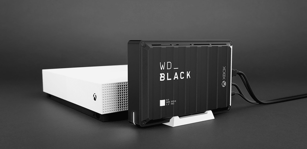 WD_Black D10 for Xbox One.