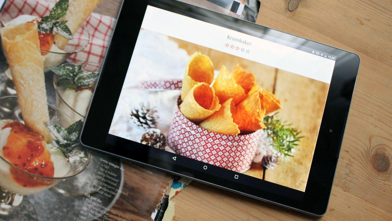 HTC Nexus 9 var det første nettbrettet med Android 5.0. Foto: Espen Irwing Swang, Tek.no