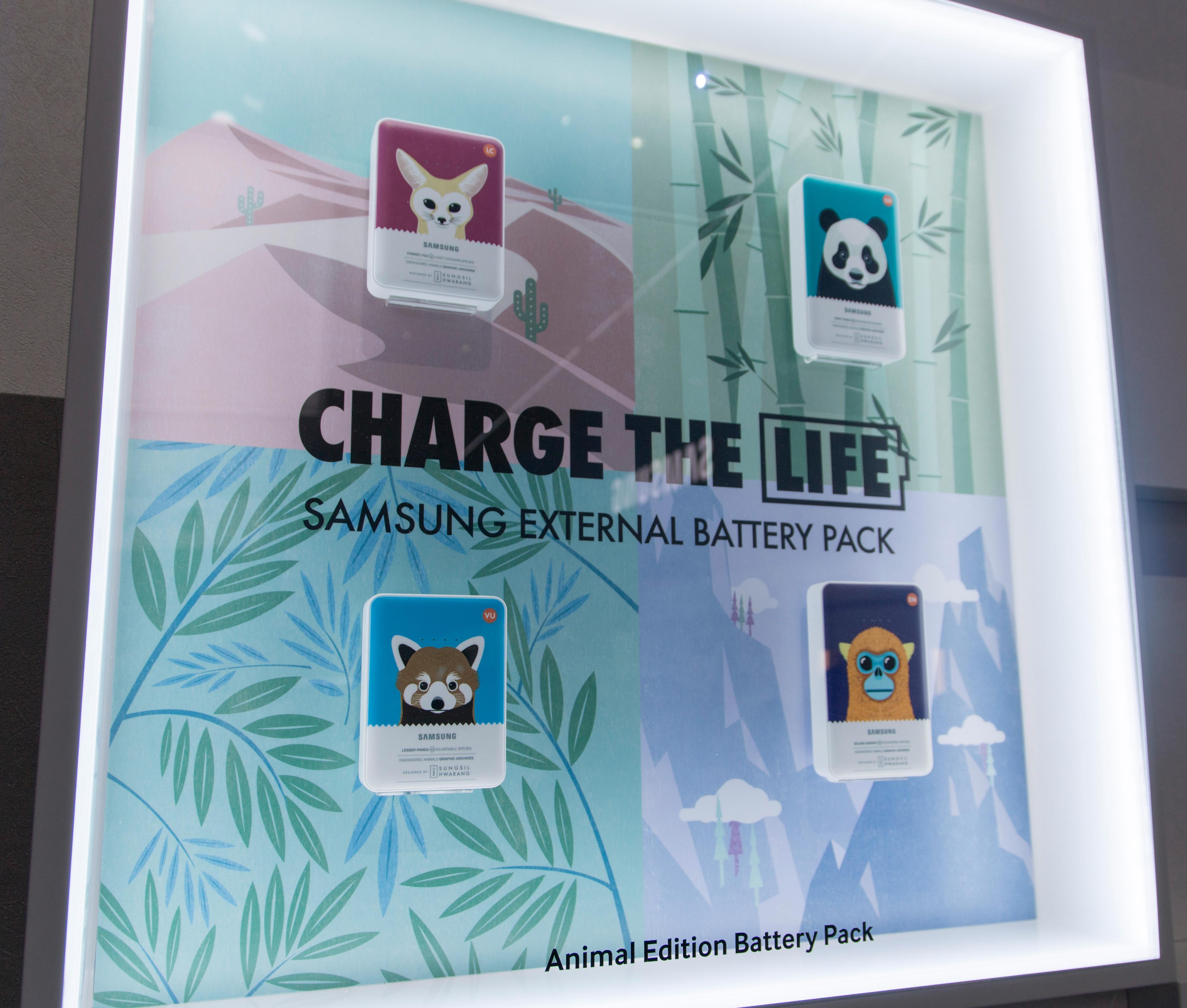 Selskapet lanserte nye og større batteripakker på messen. Skulle du ha hytte ved sjøen i Sør-Korea kan du også kjøpe dem i Animal Edition.
