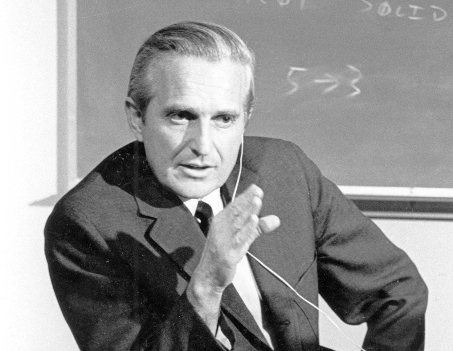 Doug Engelbart i 1968.Foto: SRI