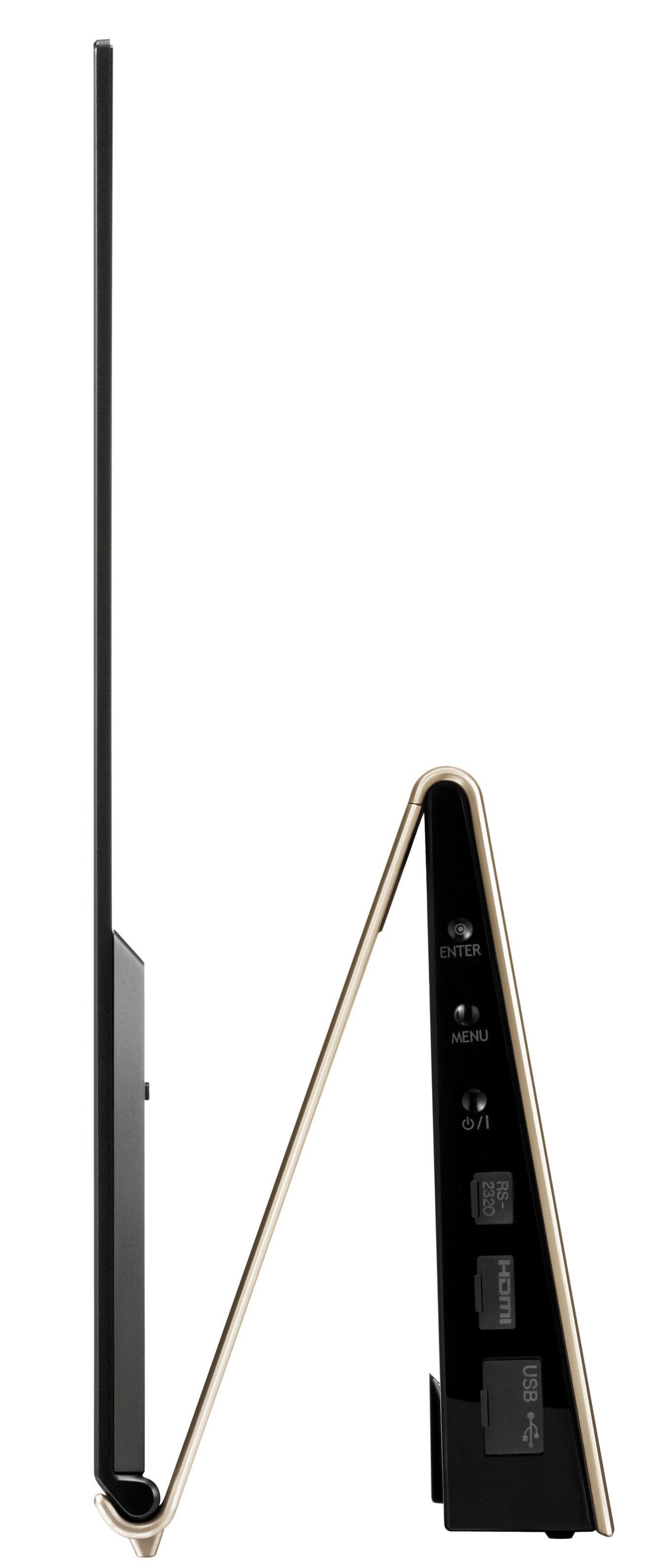 Sylslank profil takket være OLED-teknologien (klikk for større bilde)