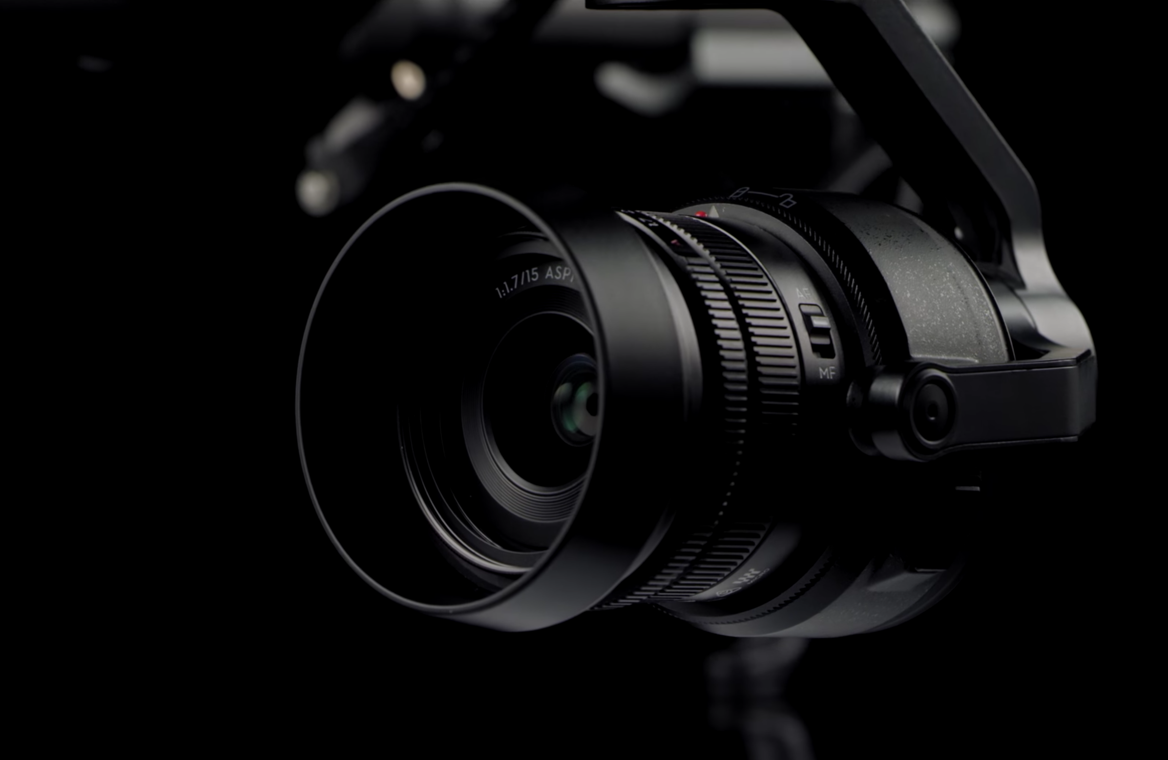 Går du for topputgaven av Inspire 2 er det dette kameraet du får på kjøpet.