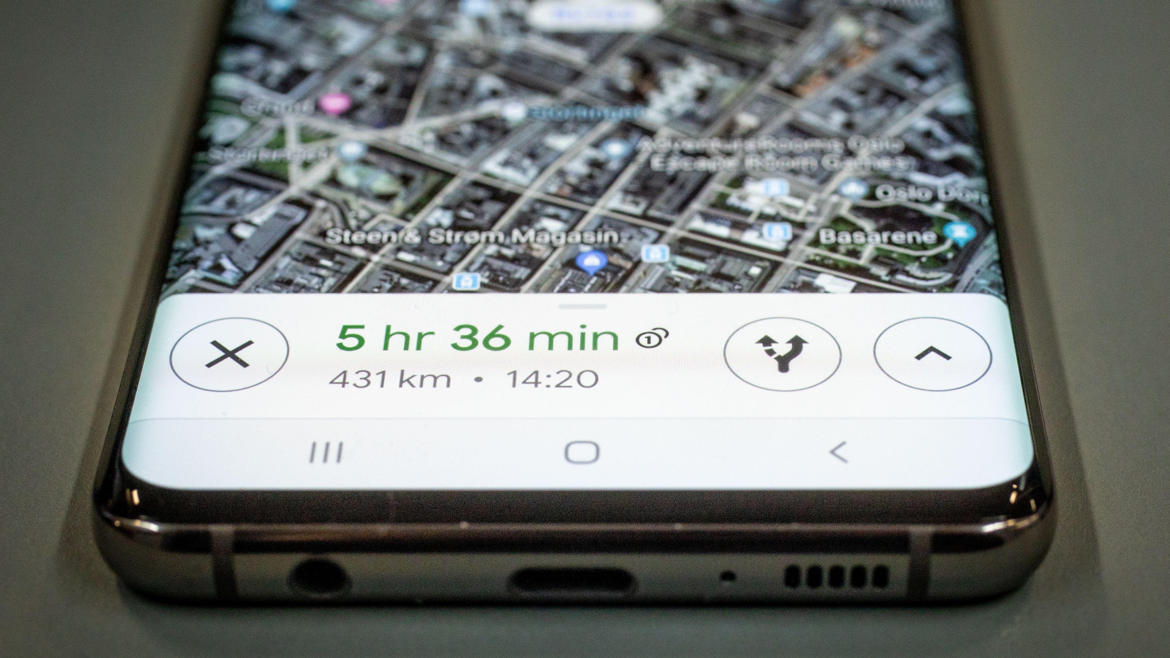 Nå får Google Maps også speedometer