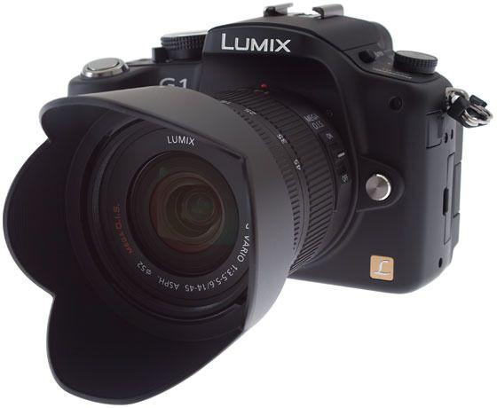 Panasonic Lumix DMC-G1.Foto: Svein Eriksen