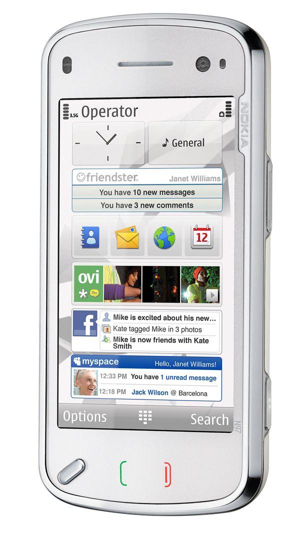 Slik ser skrivebordet ut. (Foto: Nokia)