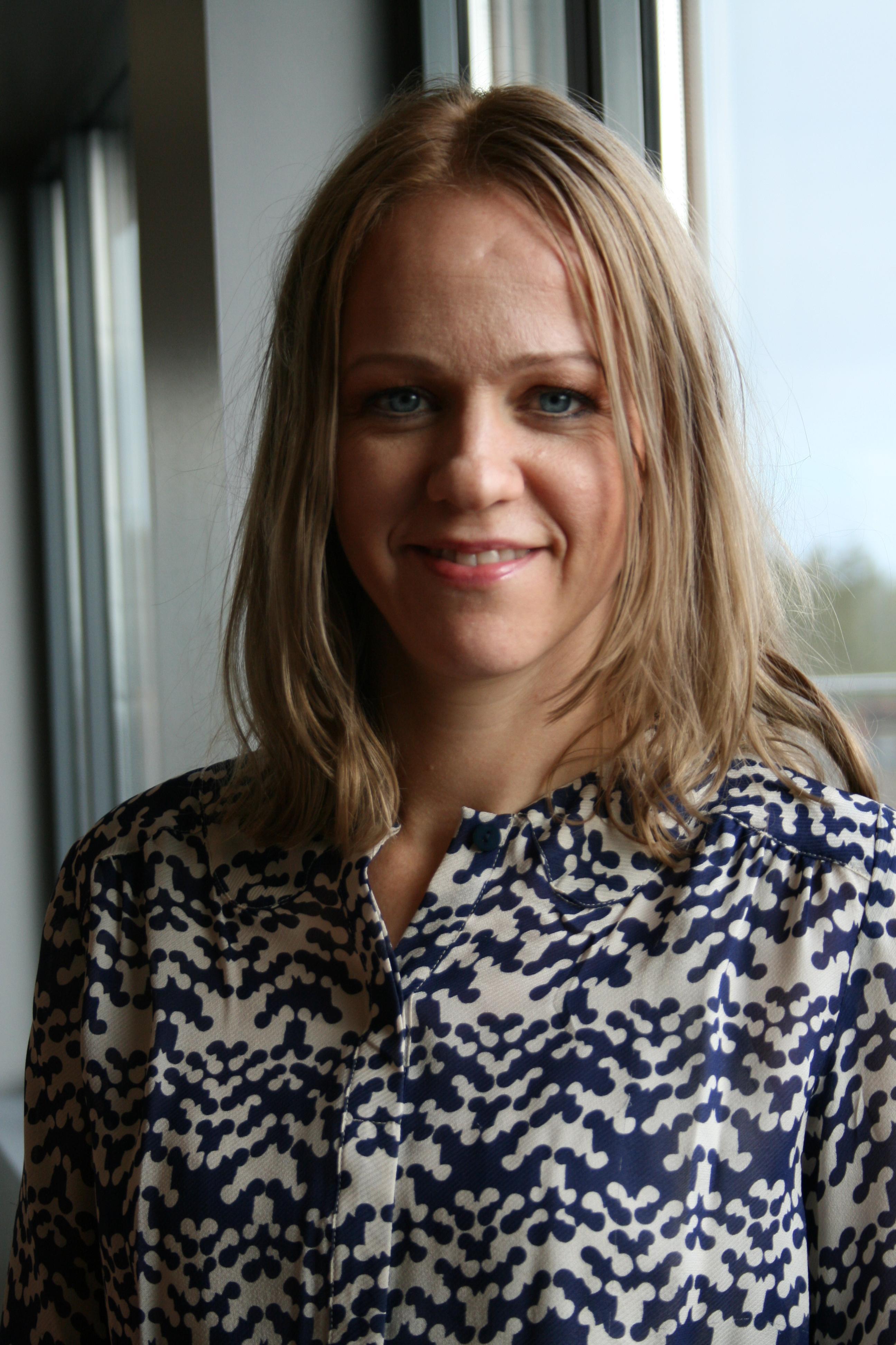 Camilla Amundsen i Talkmore.