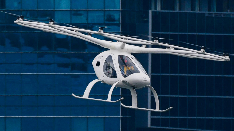 Her tester de flytaxien som kan være i drift om bare to-tre år