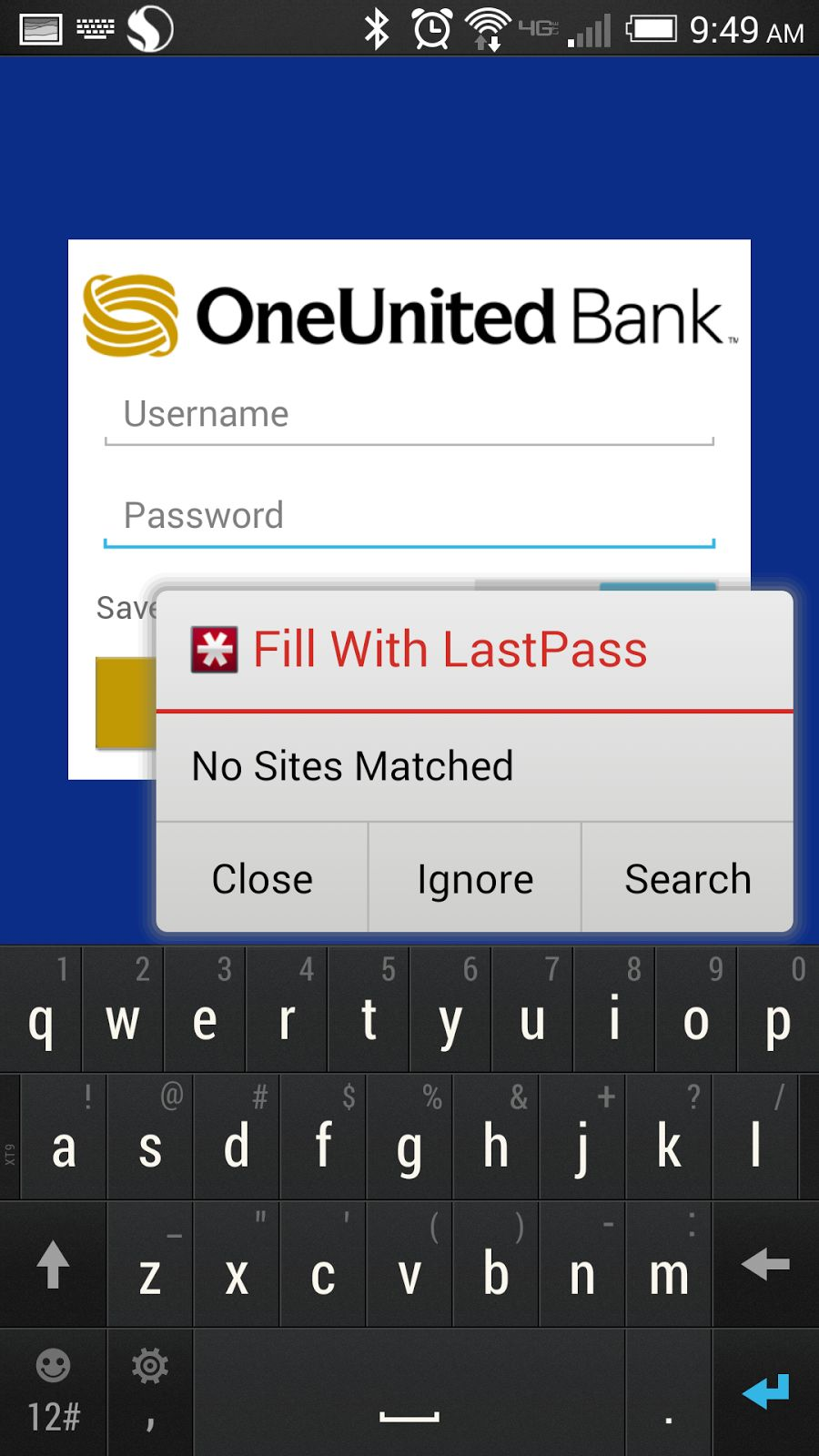 LastPass for Android.