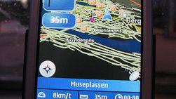 Nokia N95 blir bedre på GPS