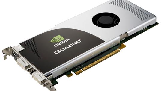 Oppgraderer Quadro FX