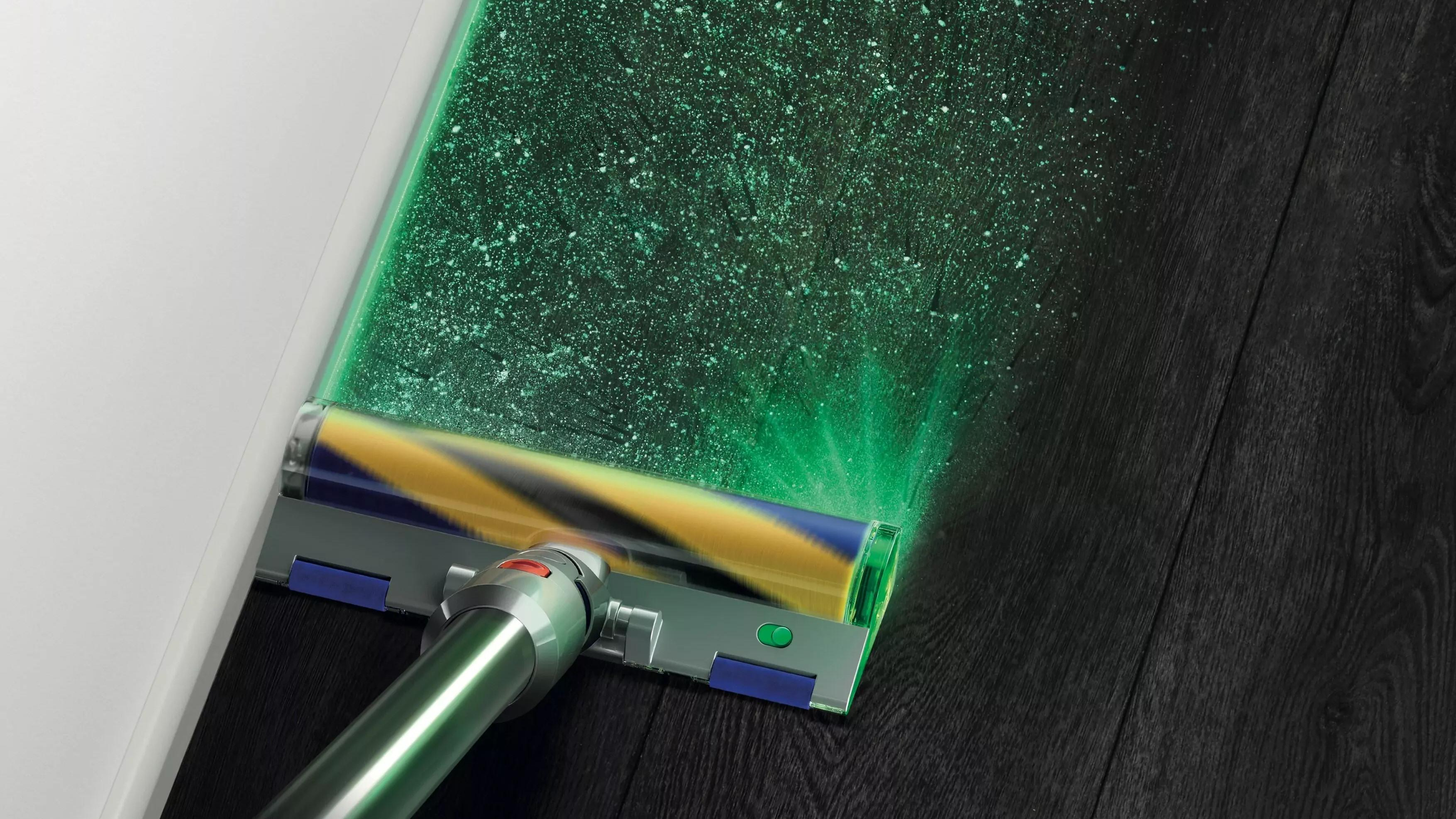 Dyson V15 Detect finner støvet ditt – med laser