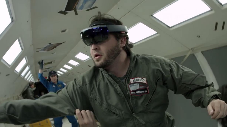 Slik skal Microsofts VR-briller brukes i verdensrommet