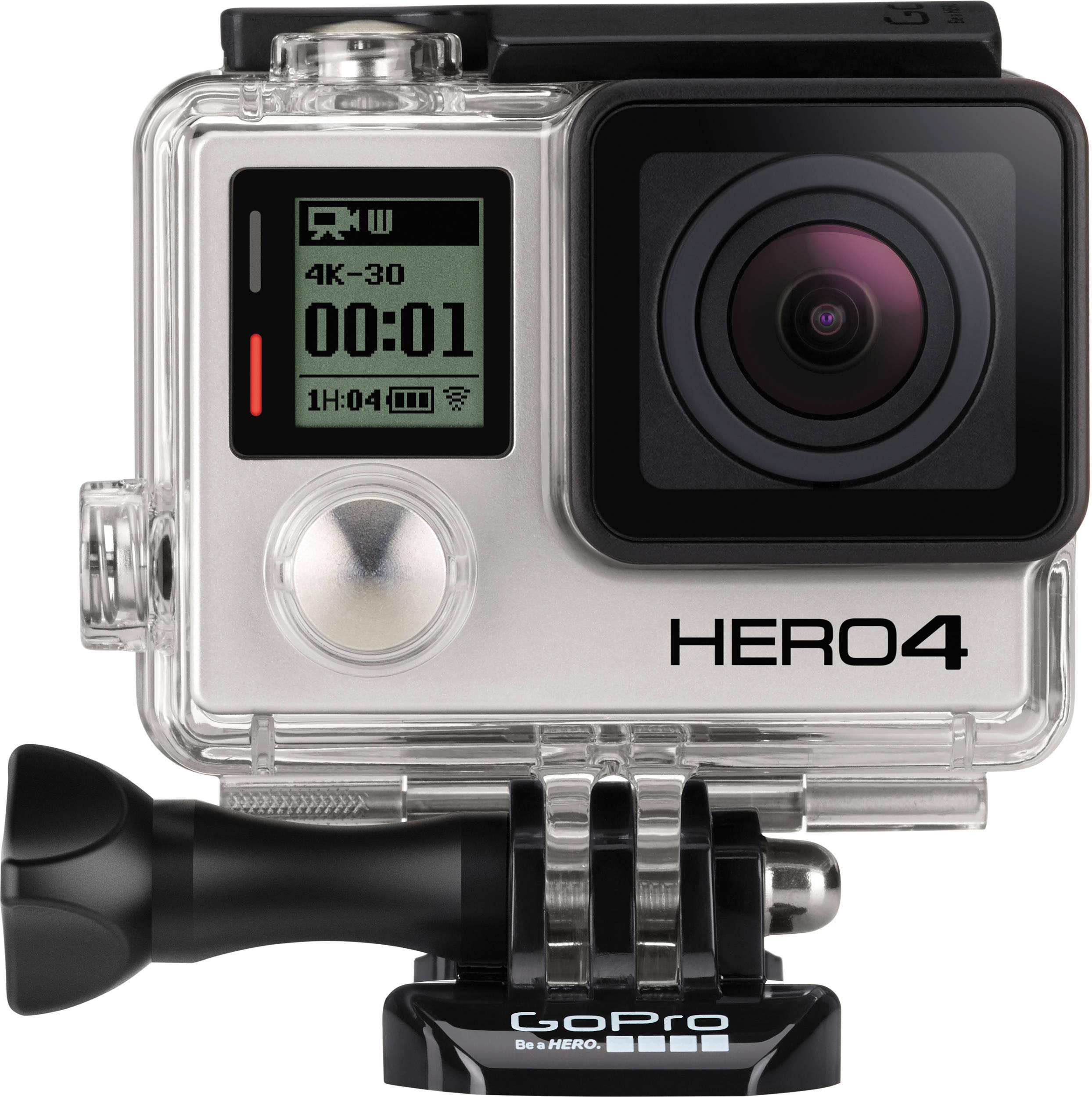 Riggen er i utgangspunktet laget for GoPro Hero 4 Black-kameraet. Foto: GoPro