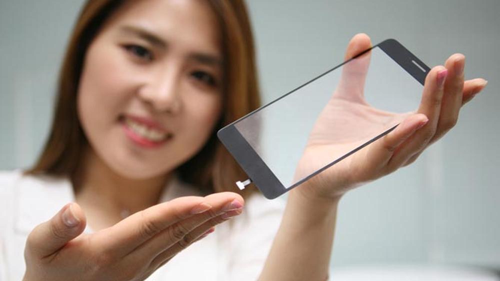 LGs har klart å bygge en fingeravtrykksleser inn i glasset på en mobilskjermen