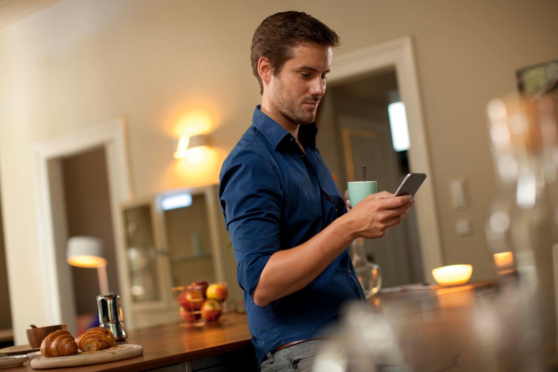 – Mange av produktene vi bruker i hjemmet kan brukes til tyverisikring, mener «Internett of Things»-ekspert Rune Pedersen.