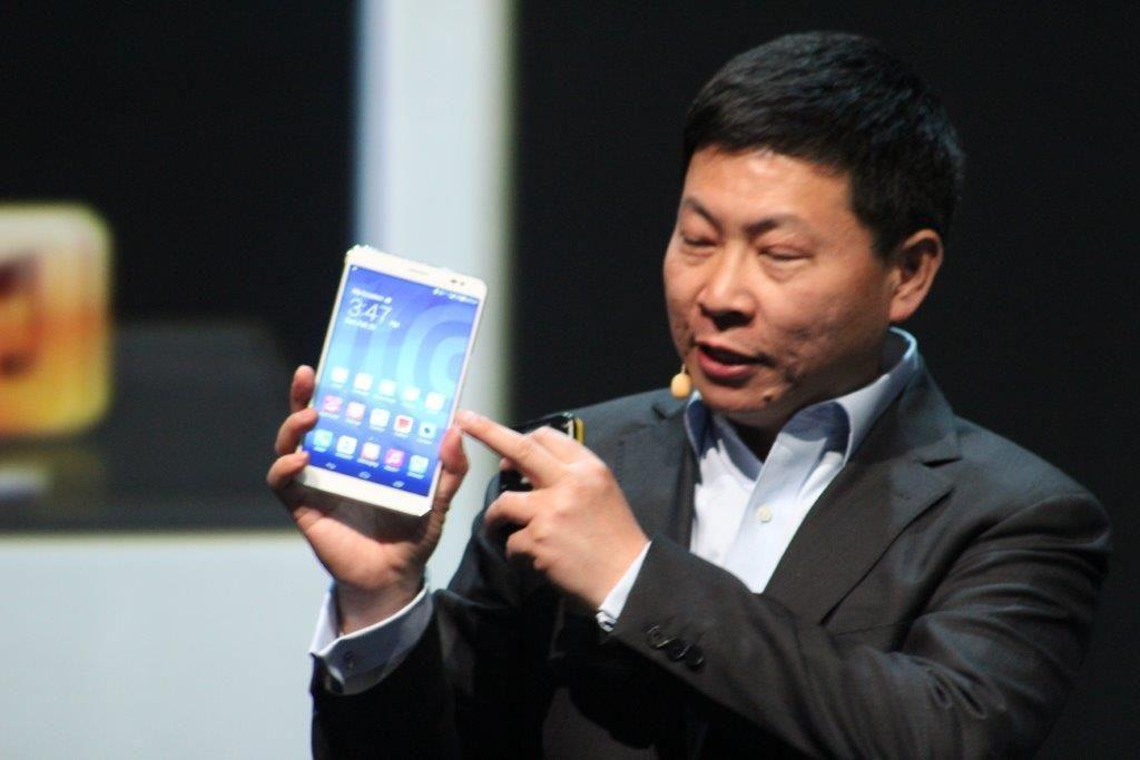 Richard Yu, CEO Huawei Consumer Business Group.