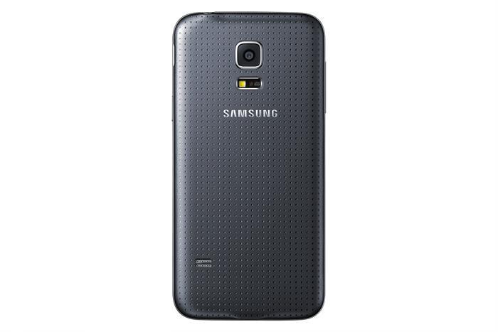 På baksiden har Samsung inkludert den noe omdiskuterte pulsmåleren fra Galaxy S5.Foto: Samsung
