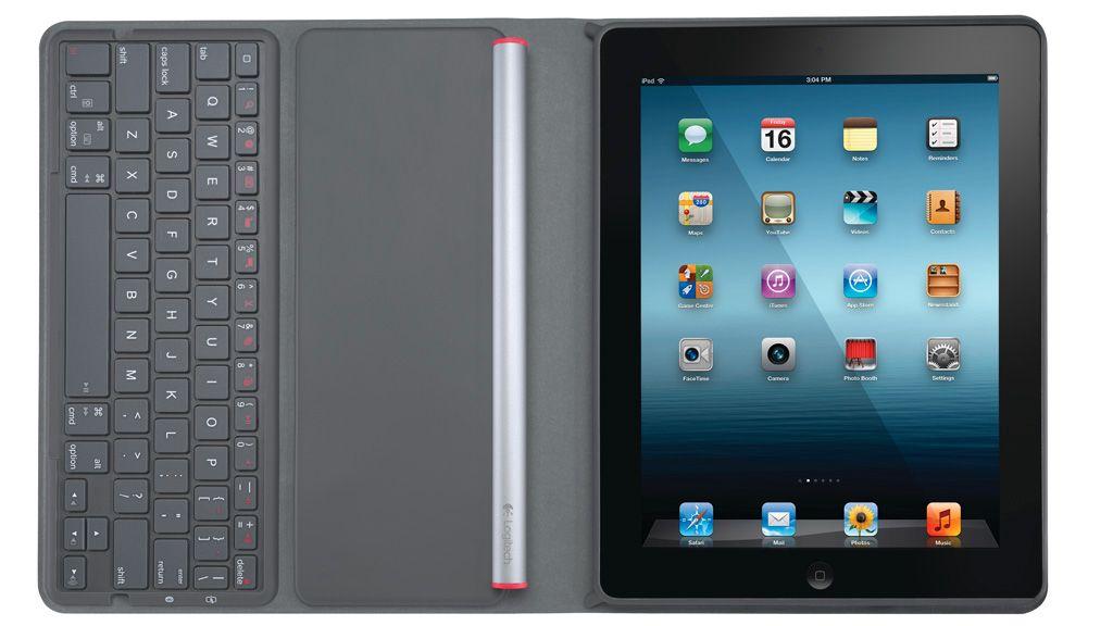 Logitech med solcelletastatur til iPad