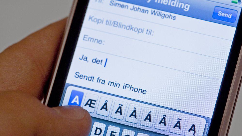 Ny oppdatering gir raskere Iphone
