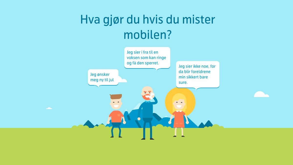 Barn må kunne svare på disse 10 spørsmålene før de får bruke mobilen