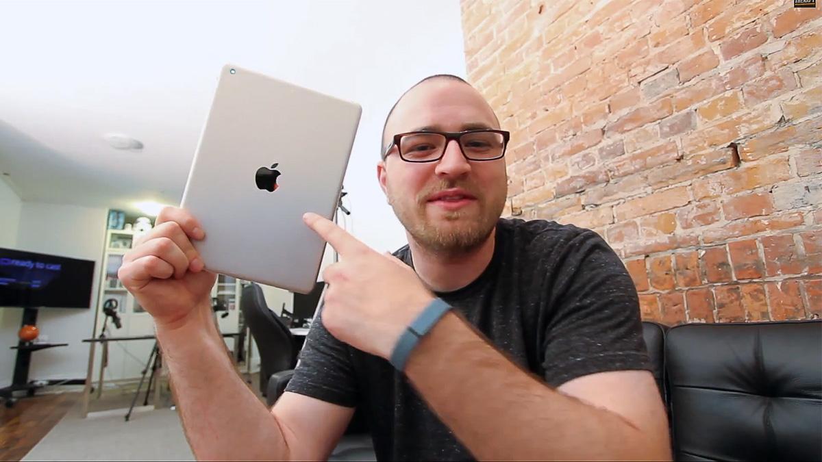 Er dette 5. generasjon iPad?Foto: unboxtherapy / YouTube
