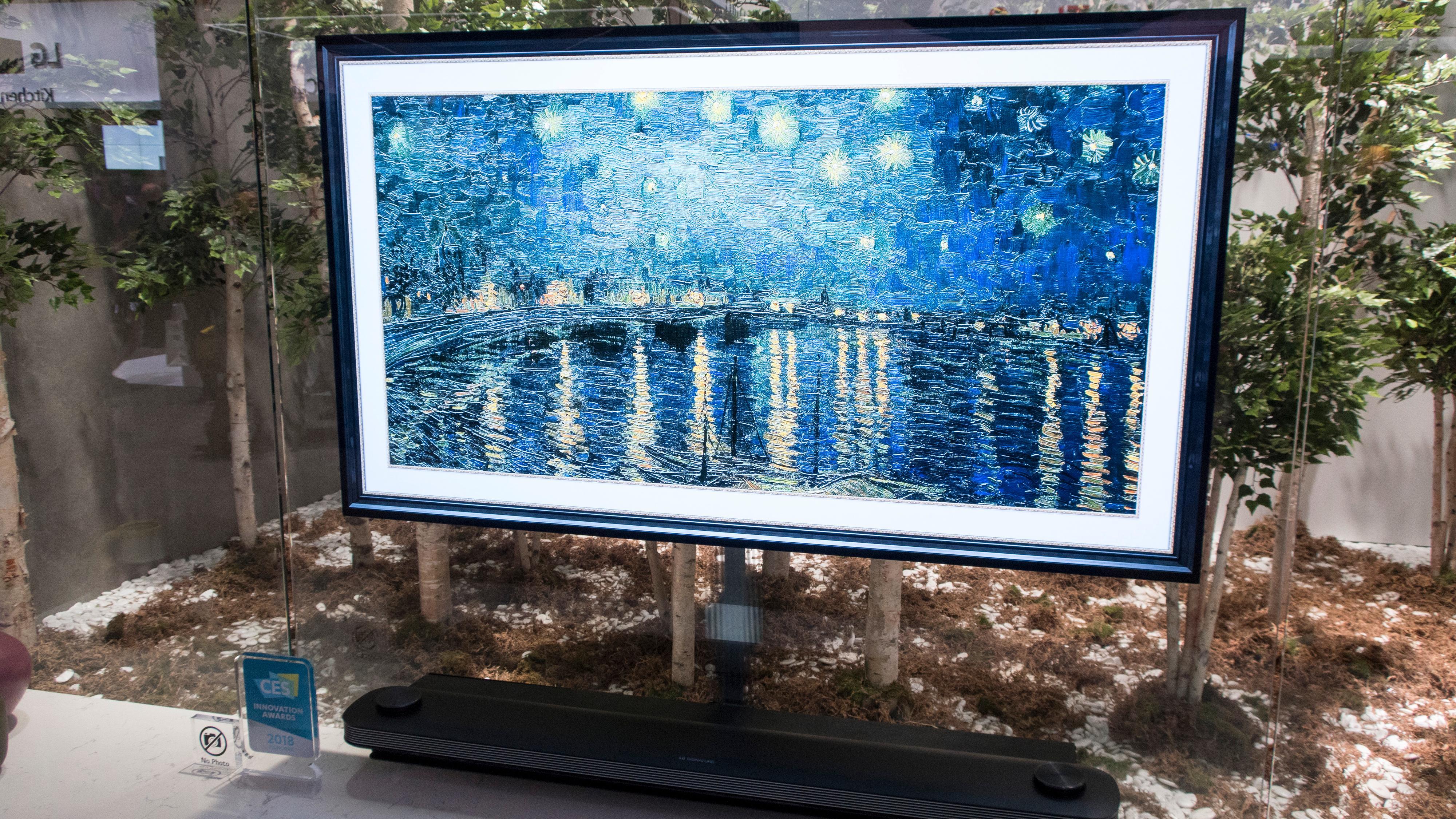 LG OLED W-serie, G-serie og E-serie