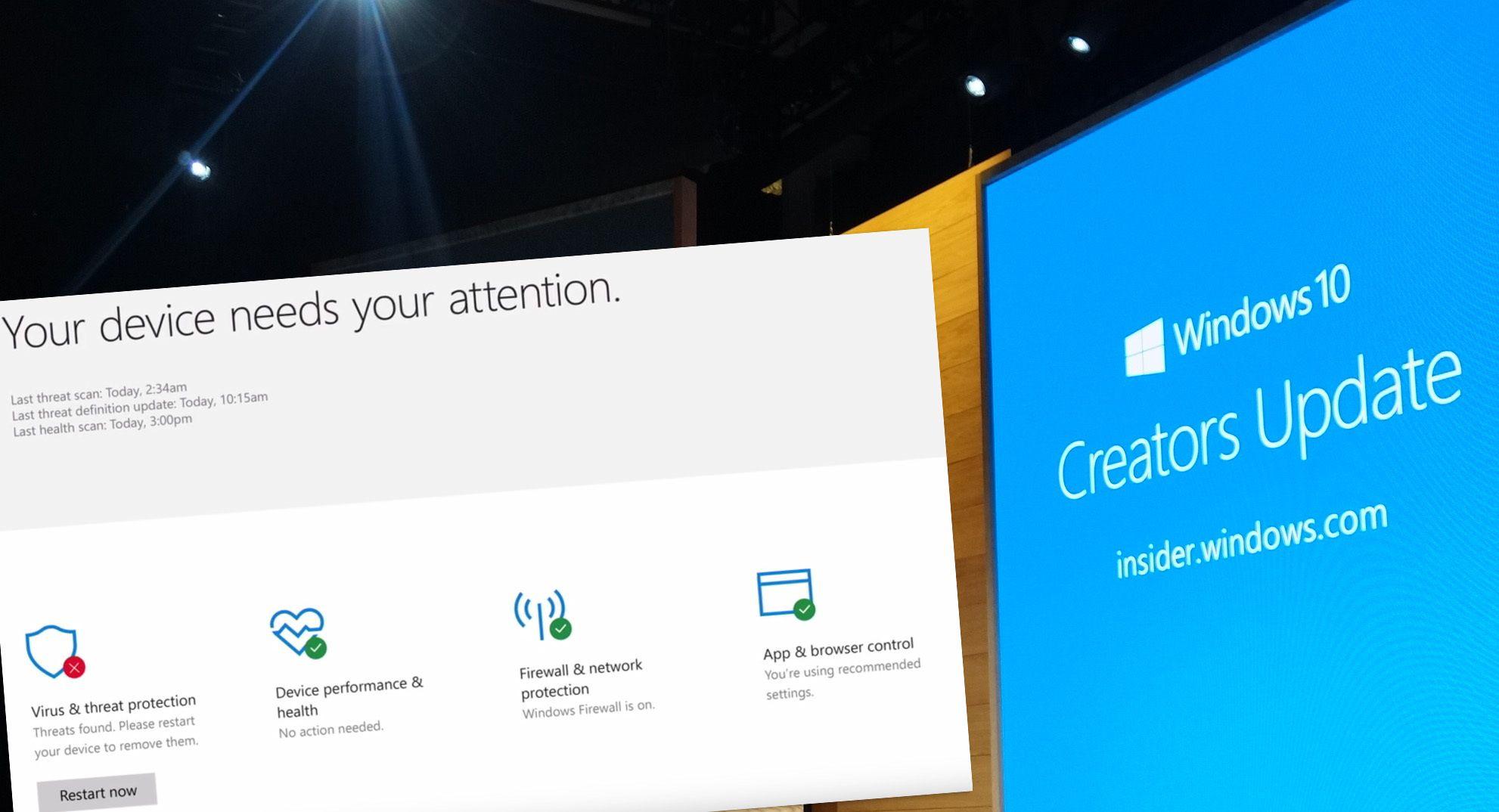 Du kan laste ned Windows 10 Creators Update allerede nå